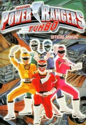Official Power Rangers Turbo Annual Hardback Book The Cheap Fast Free Post