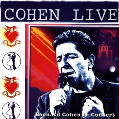 Cohen Live - Leonard Cohen Live In Concert -  CD 6NVG The Cheap Fast Free Post