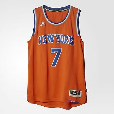 Adidas Herren Swingman New York Knicks Carmelo Anthony Trikot - A45972 - Orange