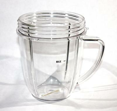 NutriBullet Short Cup with Handle 18 oz Brand New Replacement