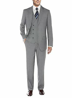 New Gray Men Suits Slim Fit Groom Tuxedos Formal Business Wedding Suit Prom Suit