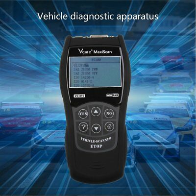 UNIVERSAL ALL Car fault reader code scanner diagnostic tool OBD 2 CAN RESET TOOL