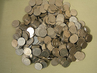 Sixty (60)  Norwegian  One Krone Coins...  Very Good Condition.