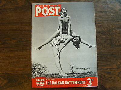 PICTURE POST - 26th APRIL 1941 - Vol. 11  Number 4 - THE BALKAN BATTLEFRONT