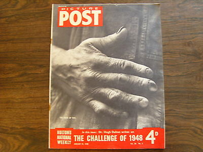 PICTURE POST - 10th JANUARY 1948 - Vol. 38  Number 2 - THE CHALLENGE OF 1948