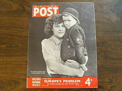 PICTURE POST - 5th MAY 1945 - Vol. 27  Number 5 - EUROPES PROBLEM