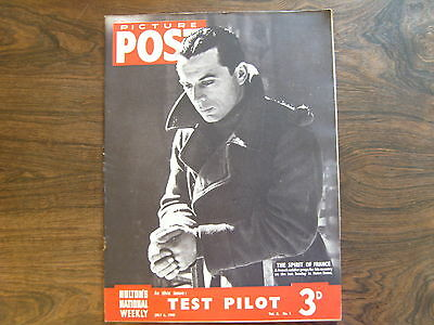 PICTURE POST - 6th JULY 1940 - Vol. 8  Number 1 - TEST PILOT