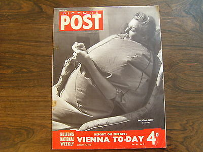 PICTURE POST - 19th JANUARY 1946 - Vol. 30  Number 3 - VIENNA TODAY