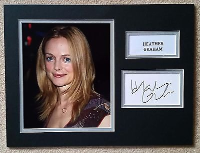 Heather Graham - The Hangover / Austin Powers - Superb Signed Display - Coa