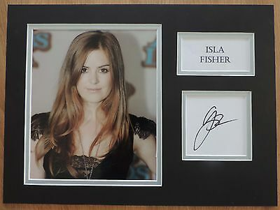 Isla Fisher - Now You See Me - Superb Signed Display - Coa