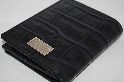 Dents Navy Blue Leather Purse Rrp £38!
