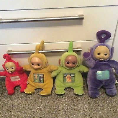 Vintage Teletubbies Tinky Winky Dipsy Lala And Po Musical , Collectable
