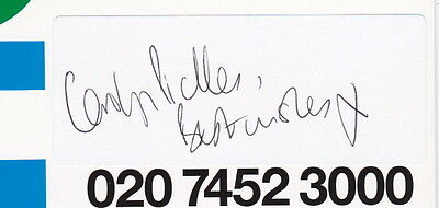 Theatre & Television CAROLYN PICKLES (Broadchurch, EastEnders) - Signed Piece