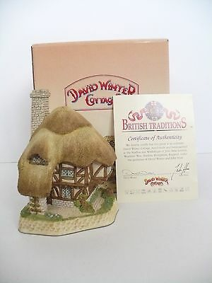 David Winter Cottages Pudding Cottage With Box & Certificate