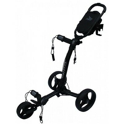 Axglo TriLite 3 Wheel Golf Trolley (Black) inc. FREE Travel Bag worth £19.99