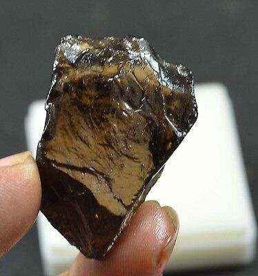 78 Ct Awesome Natural 100 % Translucent Smokey Quartz Rough  Ebay Gemstone @**