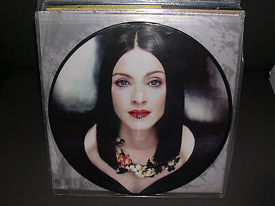 "Madonna PICTURE DISC Give me all your luvin' PART-2 12"" VINYL 4 trax Rebel heart"