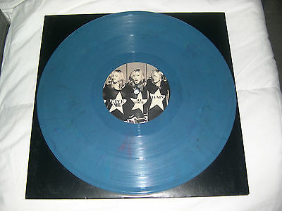 "Madonna PROMO Give me all your luvin 12"" BLUE VINYL 6 track NEW rebel heart tour"