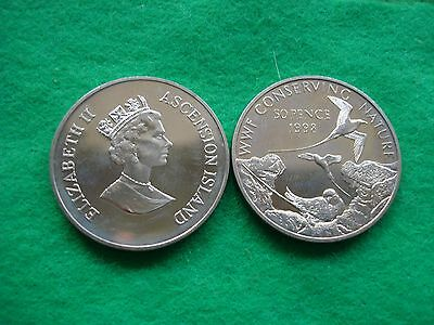 Ascension Island 1998 Wwf Conserving Nature 50P Tropicbird Brill/ Unc. Freepost