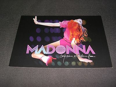 Madonna PROMO BENELUX Confessions on a dance floor POSTCARD NEW rebel heart tour