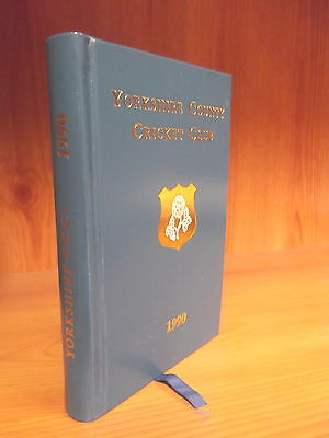 Leather-Bound Yorkshire County Cricket Club Yearbook 1990