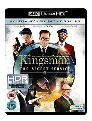 Kingsman [4K Ultra HD Blu-ray + Digital Copy] [New Blu-ray]
