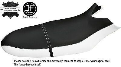 Black & White Custom Fits Sea Doo Rx 00-06 Automotive Vinyl Seat Cover + Strap