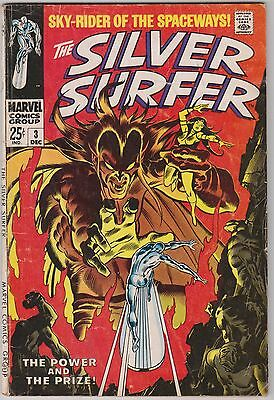 Silver Surfer #3, Marvel Comics, first Mephisto
