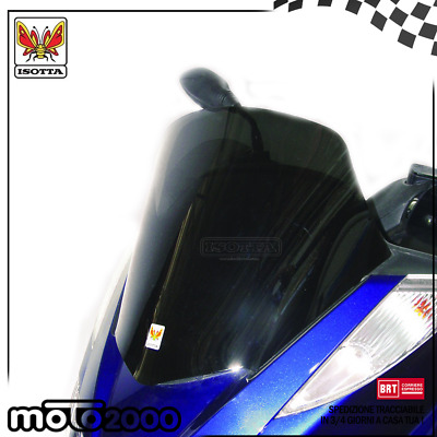 Cupolino Spoiler Basso Fume' Scuro Isotta Per Yamaha Majesty 400 2004 2006 2008