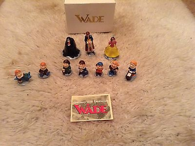 Wade Snow White,prince,witch and seven dwarfs collector set
