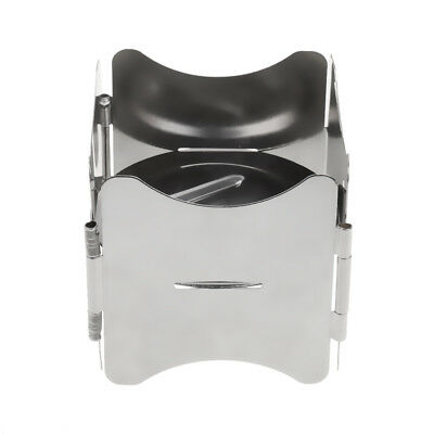 Windproof Lightweight Backpacking Camping Stove Solid Fuel Stove Pot Stand
