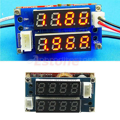 DC-DC Adjustable Step-down Buck Power supply Charge Module Voltmeter Ammeter 5A