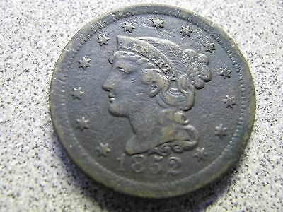 1852 & 1853 Large Cents --- Nice Old Stuff-
