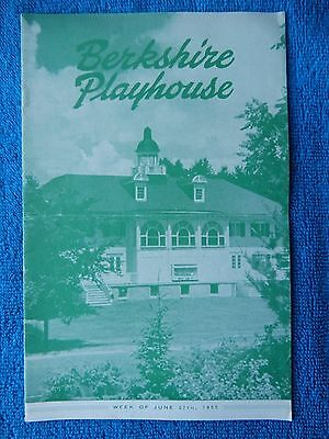 Dial M For Murder - Berkshire Playhouse Theatre Playbill - June 27th, 1955
