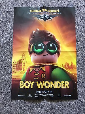 Lego Batman Movie Poster Robin