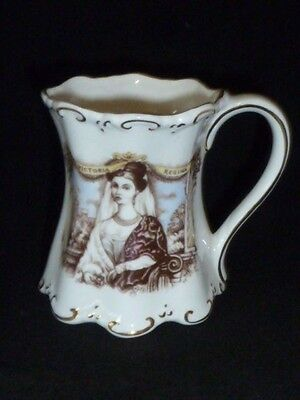 Charming Queen Victoria 1897 Diamond Jubilee Porcelain Cup