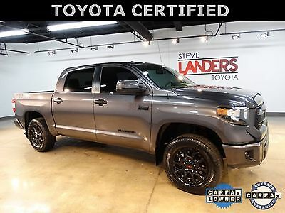 2016 Toyota Tundra TRD Pro LEATHER TRD DUAL EXHAUST COIL SUSPENSION 4WD V8