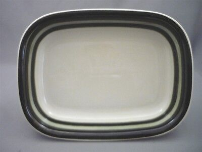 1970's Arabia Finland Oven Bake Rectangle Casserole Dish KARELIA 5 Hand Painted