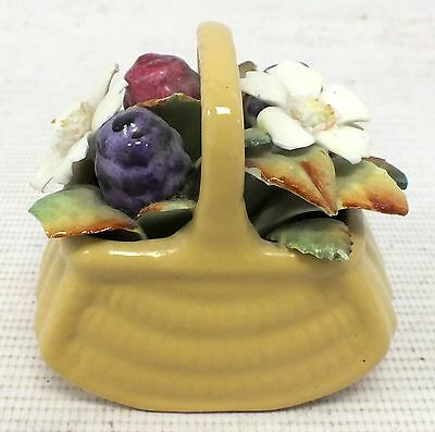 "ROYAL DOULTON Brambly Hedge Posey Flower ""Autumn Basket""  - O02"
