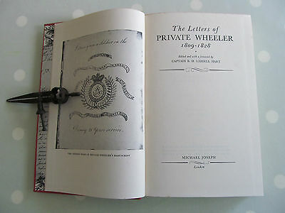 The Letters Of Private Wheeler 1809 - 1828 With A Forward By Liddell Hart