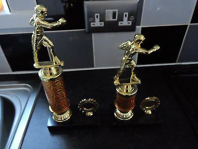 Joblot Of 30 - Boxing Trophies In 2 Sizes - Free Engraved Plates