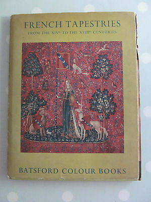 French Tapestries Batsford 1St / First Edition Dated 1951 With Magazine