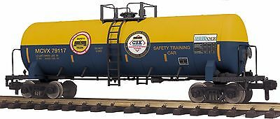 MTH 70-73057, G Gauge RailKing One Gauge Unibody Tank Car - CSX