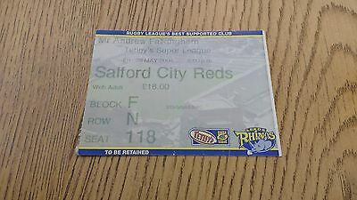 Leeds Rhinos v Salford City Reds 2004 Used Rugby League Ticket