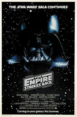 Star wars The empire strikes back #5 cult sci-fi movie poster print