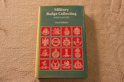 """Military Badge Collecting"" Cap Badge reference book, Gaylor 3rd edition.."