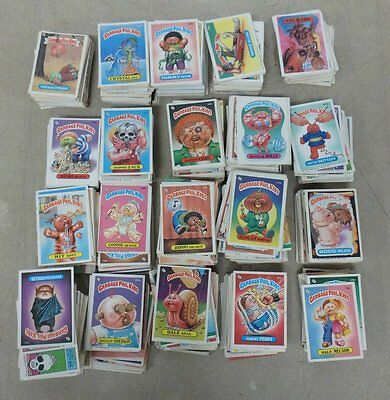 LOT OF OVER 1200 OF Garbage Pail Kids Sticker Cards