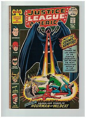 JUSTICE LEAGUE OF AMERICA 96 VG Feb. 1972