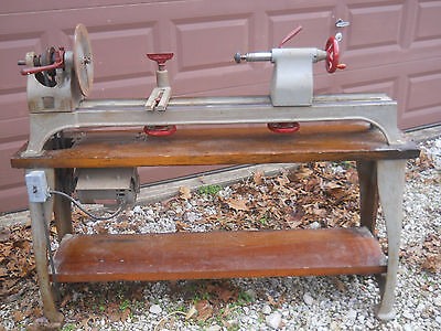 Vintage Heavy Duty Duro Wood Lathe