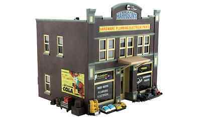 Woodland Scenics BR5842, O Scale, Harrison's Hardware, Built-Up, Detailed, 5842